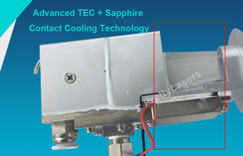 Advanced TEC + Sapphire Contact Cooling Technology