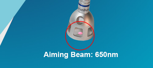 Aiming Beam: 650nm