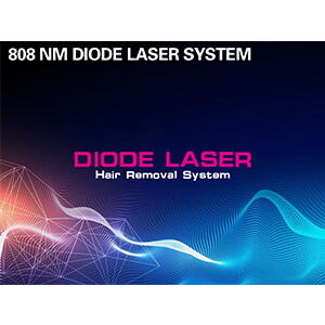 Diode Laser Hair Removal System Main Interface