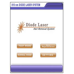 Diode Laser Main Menu