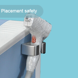 Handle placement safety: The treatment handle for safety