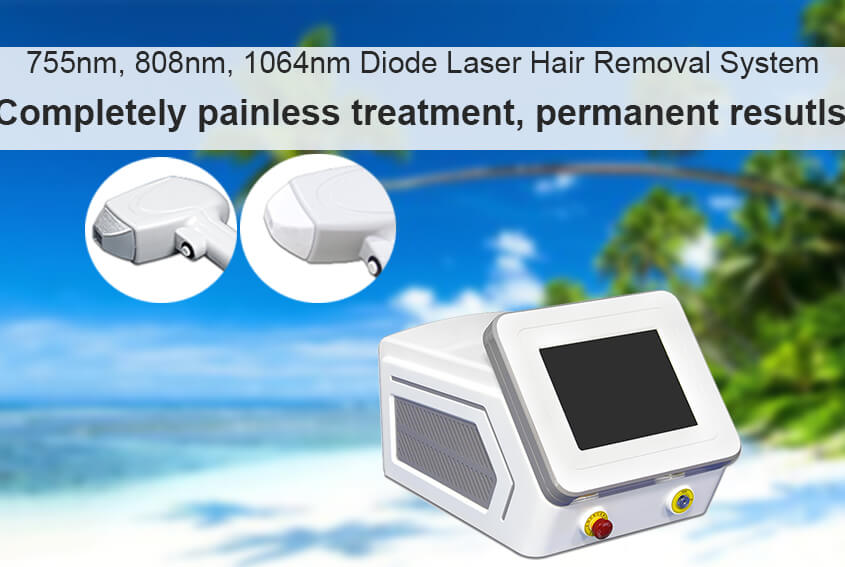 Is diode laser hair removal harmful to skin?