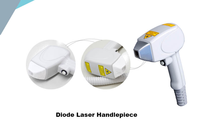 Medical Grade_Laser Hair Removal Machine Handlpiece