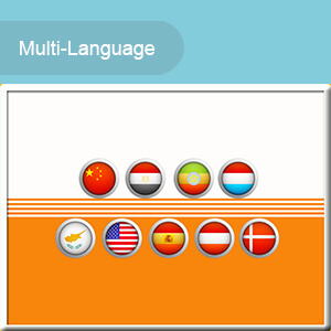Multi-Language: User-friendly and multi-language operation screen