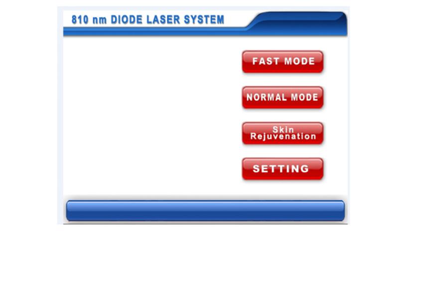 Fast Mode, Normal Mode, Skin Rejuvenation