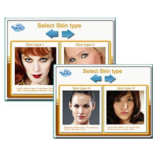 Select Skin Types