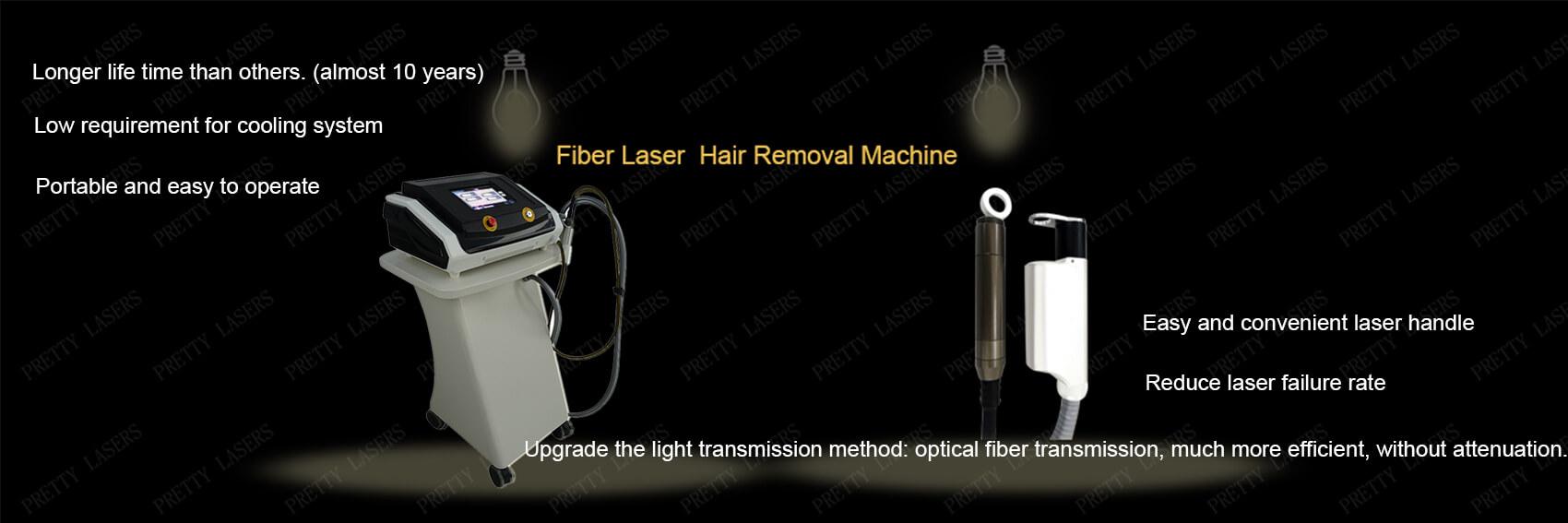 Fiber Laser Hair Removal Machine Advantage