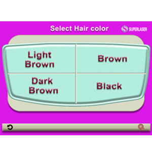 Select Hair Color