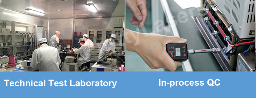 How does your factory do regarding quality control ?