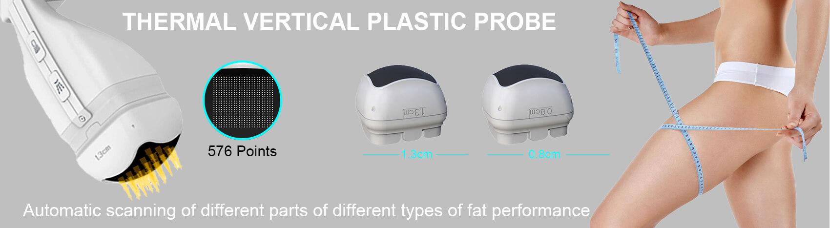 THERMAL VERTICAL PLASTIC PROBE