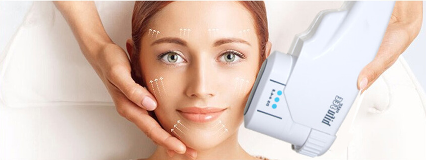 Ultherapy is mainly treated on the face and neck