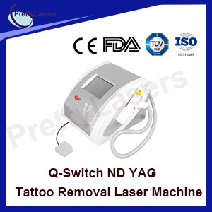 Q-Switch: ND YAG Laser Tattoo Removal Machine