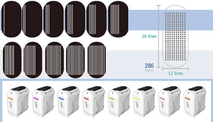 9D hifu ultrasound machine has 8 different cartridges