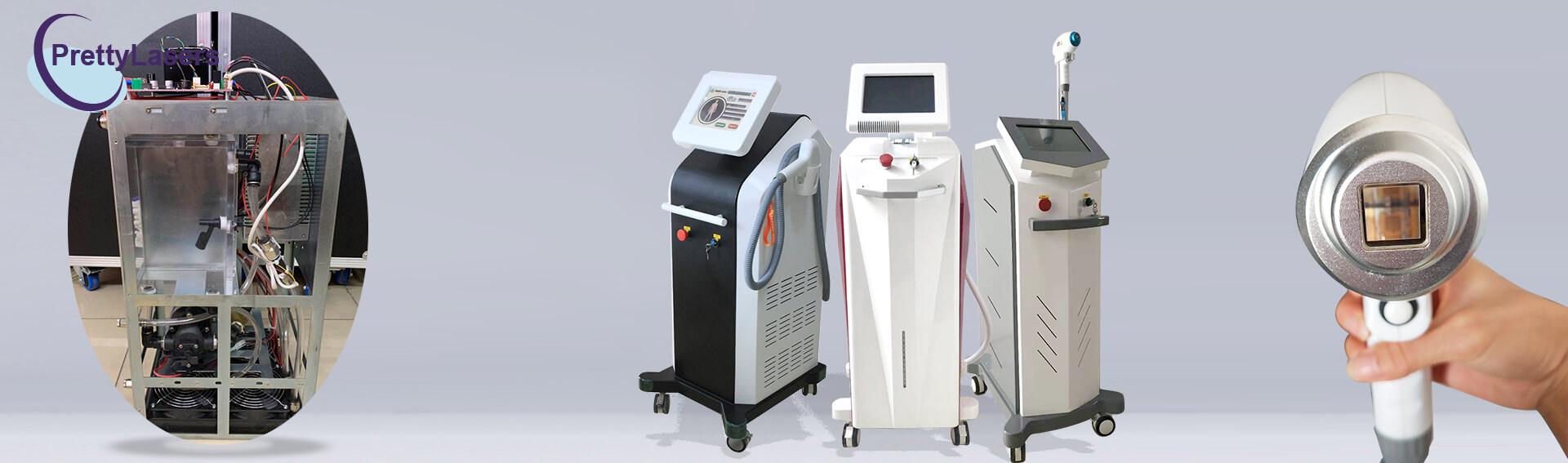 Non Channel Diode Laser Hair Removal Machine Inner Structure