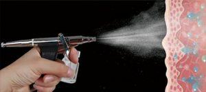 Oxygen spray gun theory