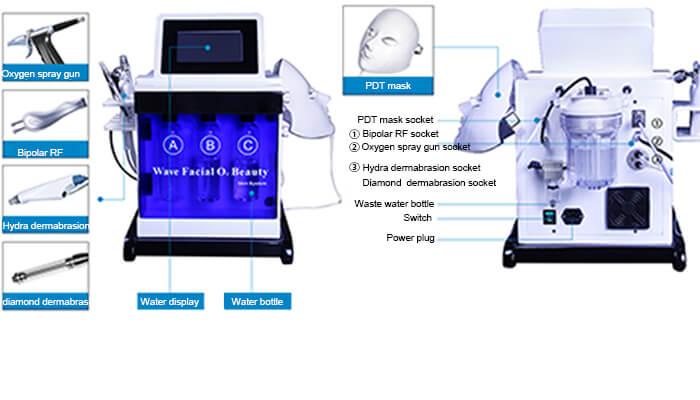 portable oxygen facial machine