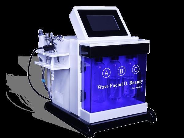 Professional oxygen facial machine