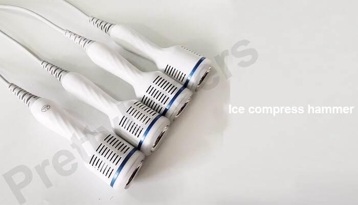 Ice compress hammer