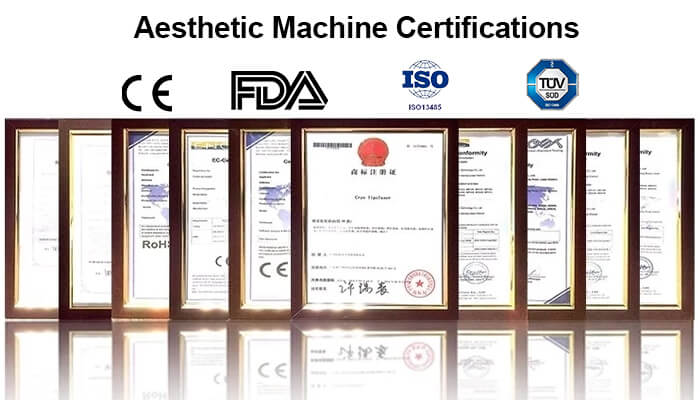 Aesthetic Machine Certifications