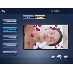 Skin Scrubber Interface