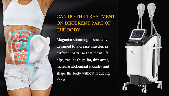 CAN DO THE TREATMENT ON DIFFERENT PART OF THE BODY